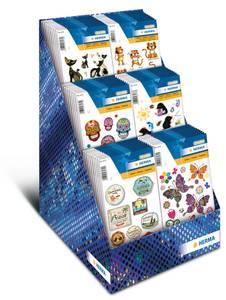 Bilde av Display MAGIC Stickers, 6 motiver, 60 pakninger