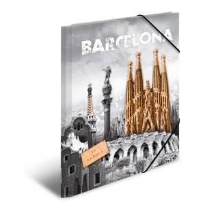 Bilde av HERMA strikkmappe i plastmateriale, A3, Barcelona